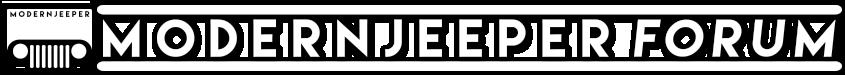 Modern Jeeper Forum